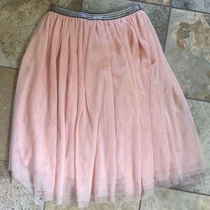 Xhilaration Blush Tulle Skirt